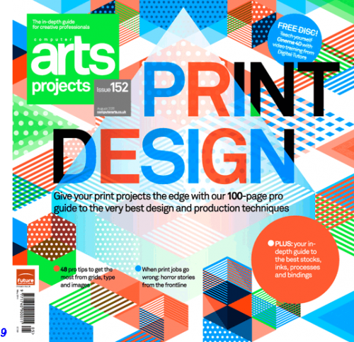 Computer Arts Projects issue 152 cover
