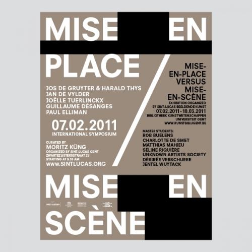 Mise-en-Place / Mise-en-Scène
