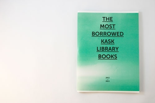 THE MOST BORROWED BOOKS