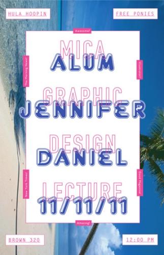 Jennifer Daniel Lecture Poster