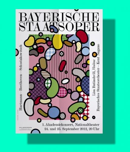 BAYERISCHE STAATSOPER Plakatserie
