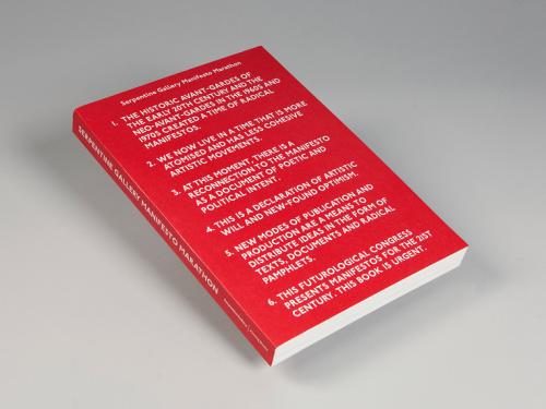 Serpentine Gallery Manifesto Marathon