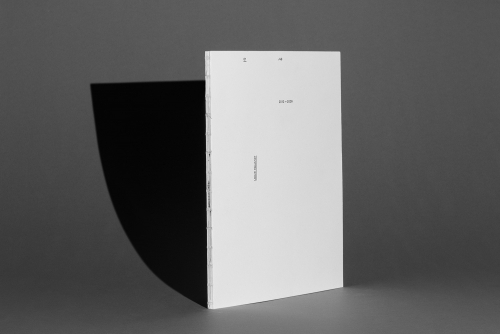 Catalogue for conceptual artist Ulrich Nausner