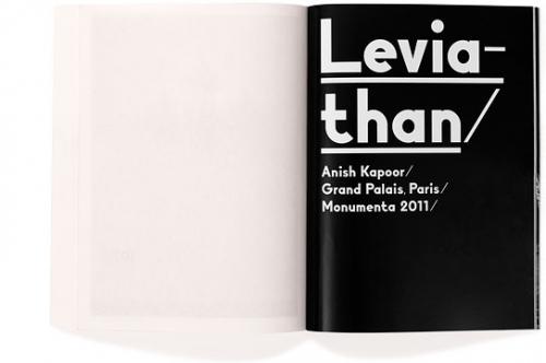 ANISH KAPOOR — LEVIATHAN