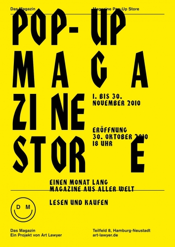 Das Magazin Magazin Pop-Up Store
