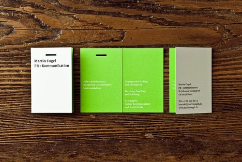 MARTIN ENGEL CORPORATE IDENTITY