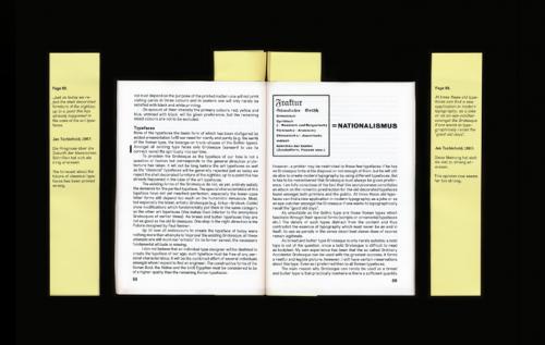 THE REVISED EDITION OF DIE NEUE TYPOGRAPHIE