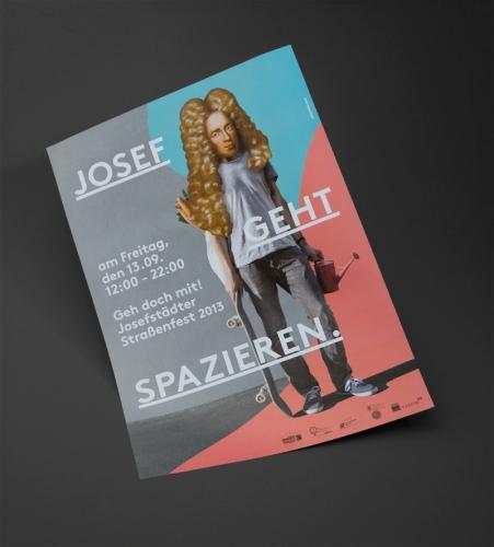 JOSEFSTÄDTER STRASSENFEST BRANDING