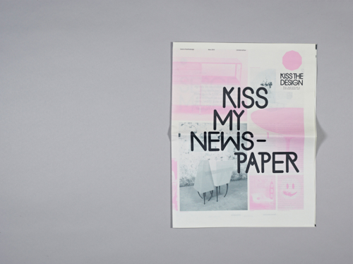 Kiss my newspaper