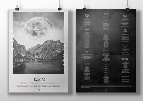 Claire The Great Escape poster