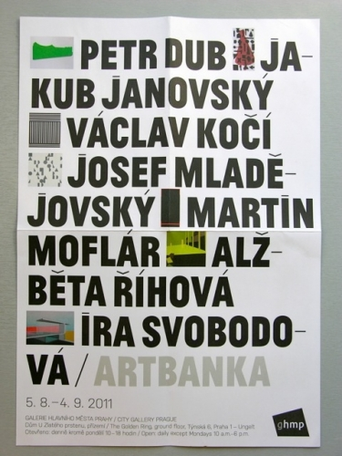 Artbanka 2011 exhibition design