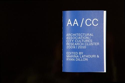 ARCHITECTURAL ASSOCIATION  AA/CC