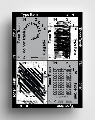 Type Item #4 Toner Trash TN 2010