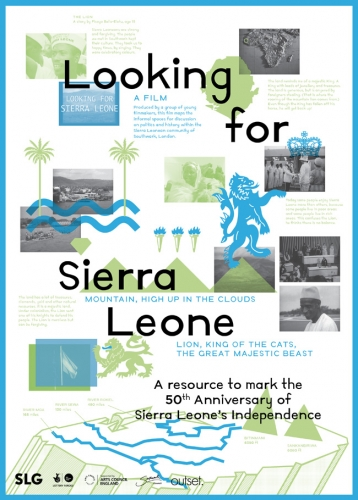 South London Gallery Looking for Sierra Leone