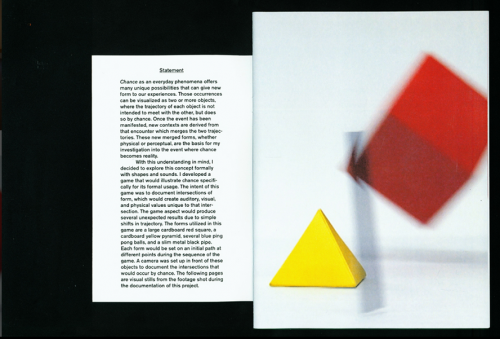 Intersecting Form Booklet