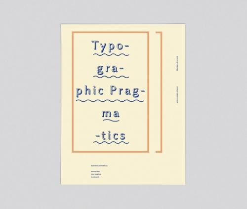 Typographic Pragmatics