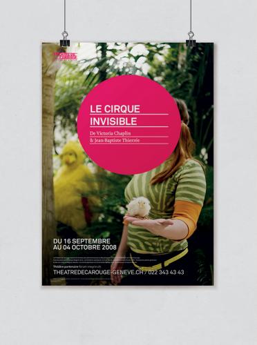 Théâtre de Carouge – Affiches de 2008 à 2011