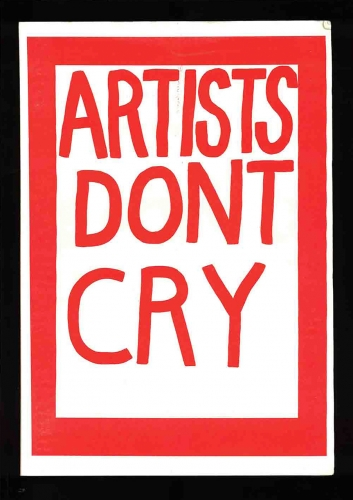 Artist Don't Cry