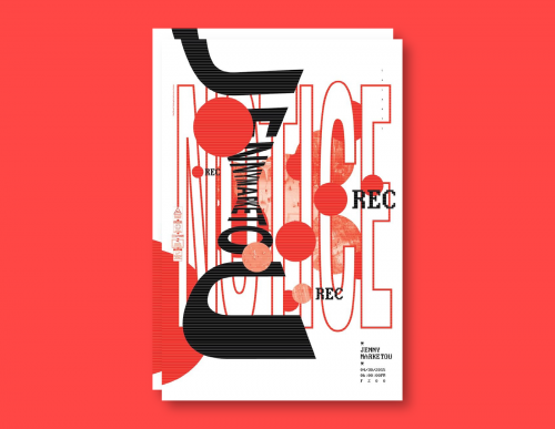 Calarts Artist Lecture Poster:Jenny Marketou