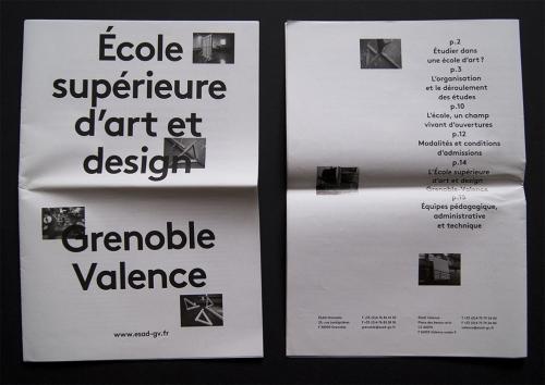 ESAD •Grenoble •Valence