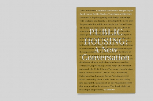 Public Housing: New Conversation