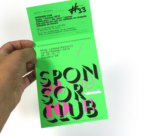 ModaLisboa SponsorClub Invitation