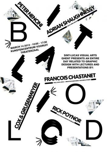 Bold Italic Poster