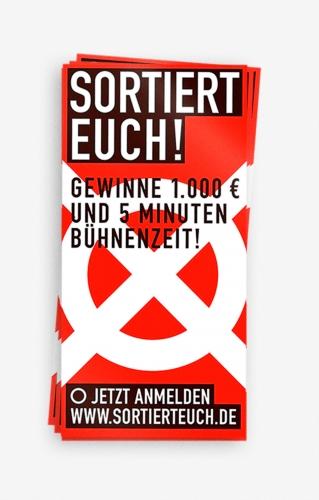 SORTIERT EUCH! / DISPLAY!