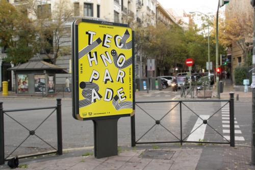 Appel d'Offre - Techno Parade 2015