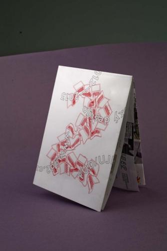 GD2 folding poster
