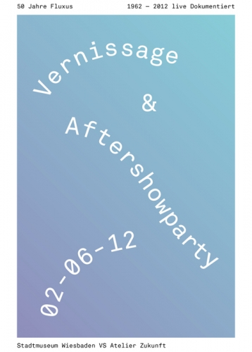 VERNISSAGE & AFTERSHOWPARTY FLUXUS 50