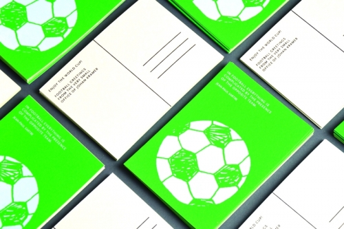 World Cup postcard