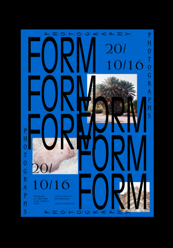 Form, images by Cydney Holm