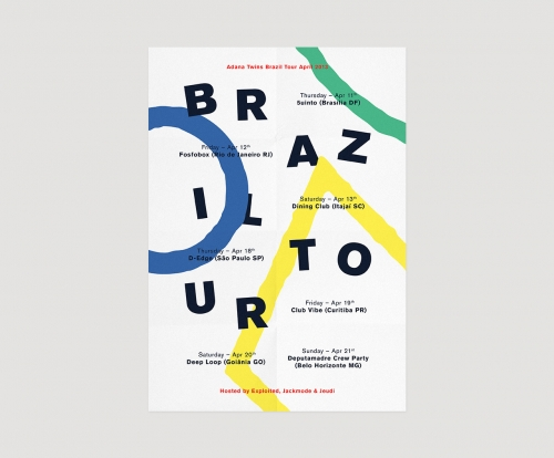 ADANA TWINS BRAZIL TOUR