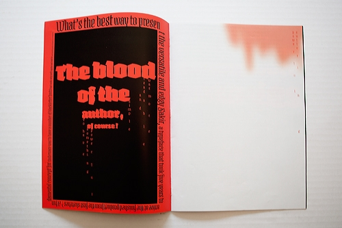 Spécimen Typographique - Fakir Typeface