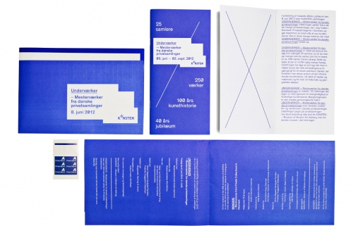 Visual identity for KUNSTEN Museum of Modern Art