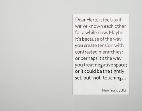 Dear Herb
