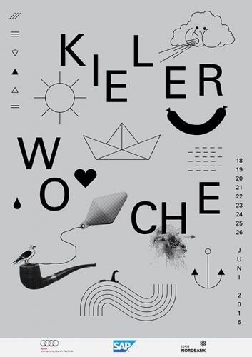 Kieler Woche Identity design