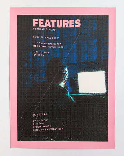 Features: Book Release Poster