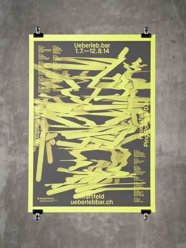 Kraftfeld Club — Poster