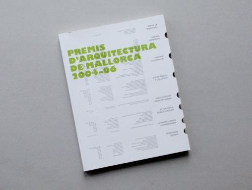 PREMIS D'ARQUITECTURA DE MALLORCA 2004-06