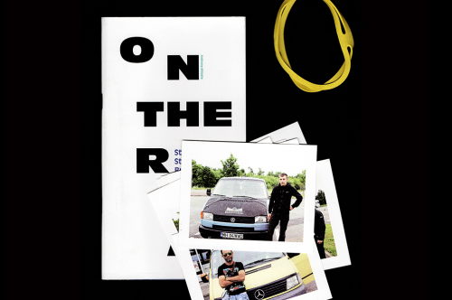 On the road / Photographie + Édition imprimée
