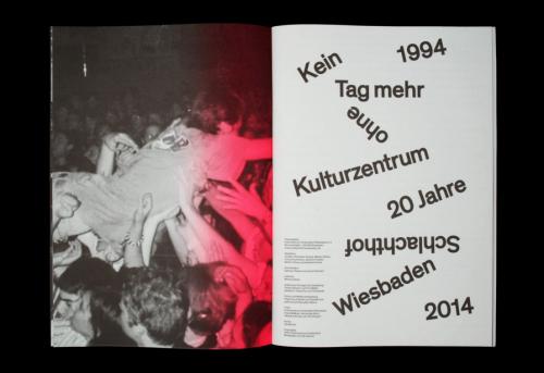 SCHLACHTHOF 1994–2014
