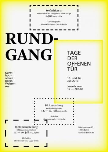 RUNDGANG 2013