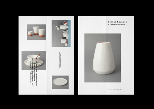 A Chair and a Table ceramic studio identity