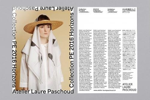 Laure Paschoud – Collection Horizons