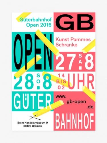 GB OPEN — Kunst Pommes Schranke