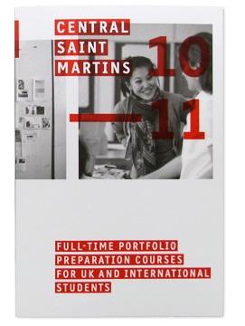 CSM Portfolio Preparation Course brochure