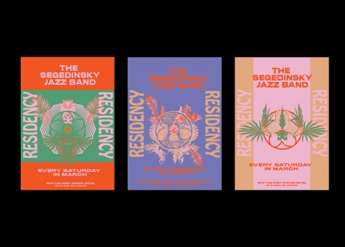The Segedinsky Jazz Band Posters