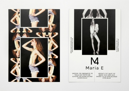 M4 Models SedCards Summer 2012